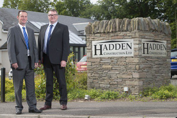 Hadden Construction heading for growth