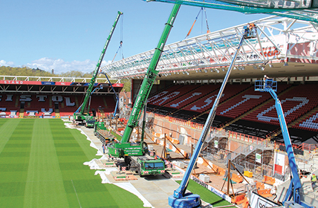 Cross-Barr challenge: stadium benefits from roof extension