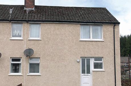 External wall insulation transforms  Ayrshire homes