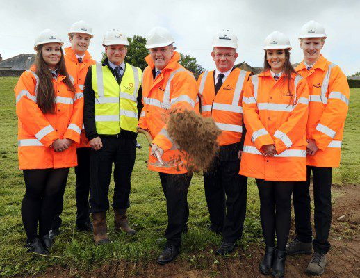 Work begins on £38m Forfar campus project