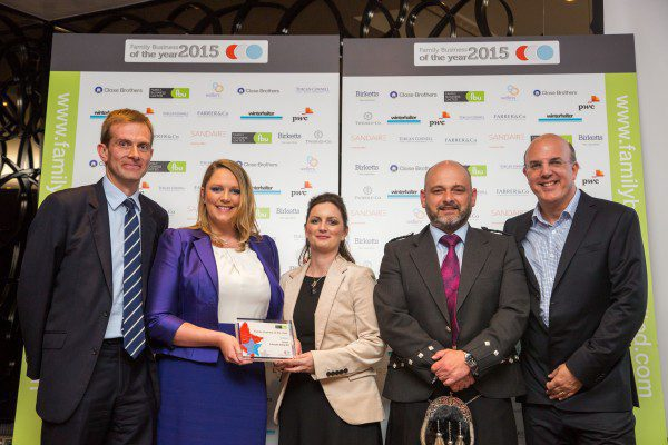 A Proctor Group win big at Family Business Awards