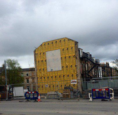 Work begins on Glasgow West End flats