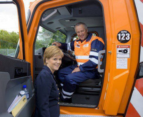 First Minister opens new Global Port Services facility