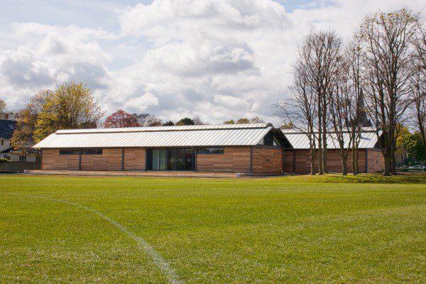 Richard Murphy completes Edinburgh Academy hockey pavilion