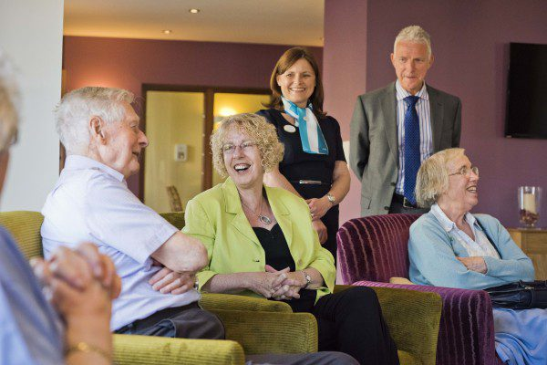 Housing Minister visits Edinburgh's first Assisted Living development