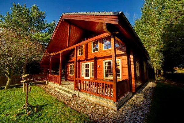 Award-winning Highland lodges up for sale