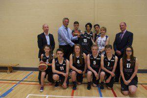 Kemnay Basketball Kit Handover - July 2015