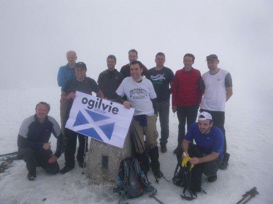 Ogilvie peaks for charity