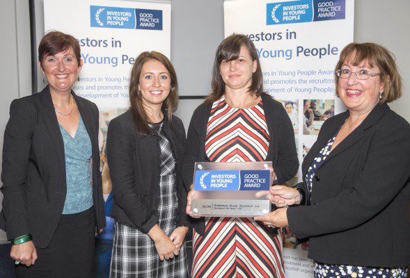 Robertson Group achieves IIYP silver accreditation