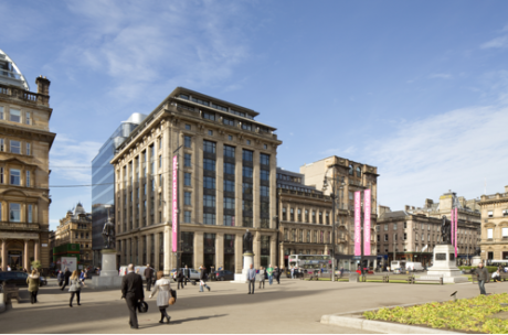 Iconic Glasgow building gets a makeover