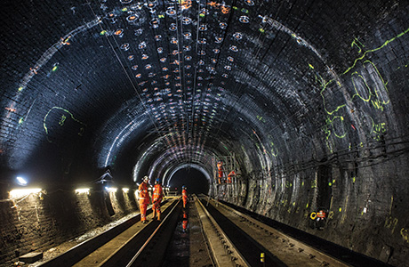 'Demanding'  Haymarket tunnel work on course for completion