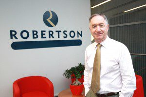 Bill Robertson CBE founder and executive chairman, Robertson Group
