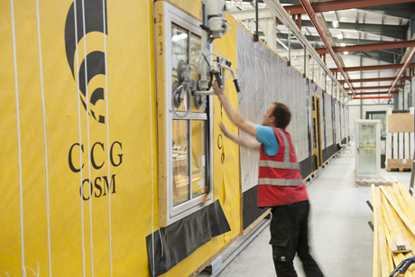 CCG's offsite manufacturing speeds up school programme