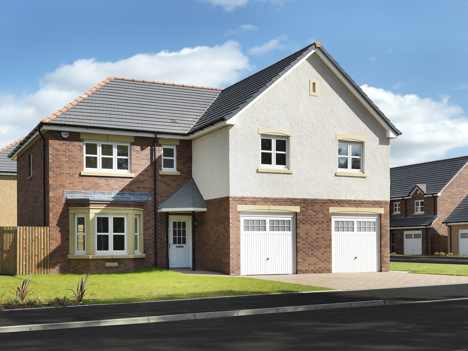Miller homes to build another 205 homes in scotland for 4 bed new build house