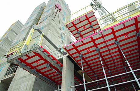 Formwork system hits the heights in Glasgow