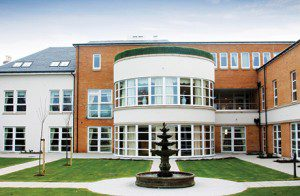 CPR1999 Walker Profiles fabricated and installed REHAU TOTAL70R windows in Templeton Care Home in Ayr
