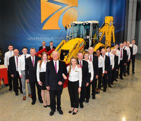 JCB marks 70 years with limited edition machine