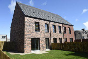 Pic Greg Macvean - 28/05/2015 - 07971 826 457 Regeneration company Urban Union has launched three new show homes at Pennywell in North Edinburgh, showcasing the high-quality housing the company is proud to deliver.