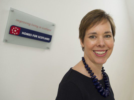 Homes for Scotland names new chief executive