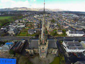 St Mungo's, Alloa, spire