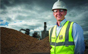 Karl Morris, Managing Director of Norbord Europe, on the site at Norbord's Cowie plant in Scotland. Norbord has announced a major capital project which will improve and extend its particleboard operations at Cowie. This project completes a £25 million reinvestment program in the particleboard operations. For further information please contact: Chris Gilmour Director Beattie Communications  Direct Tel: +44(0)1698 787894  Mobile: +44 (0)7730 415036  Picture by John Young © John Young / YoungMedia 2010
