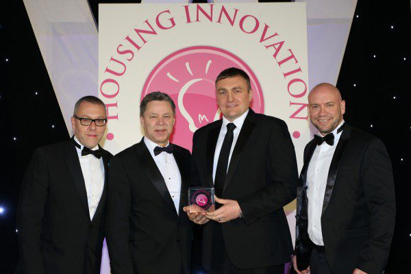 Top innovation award for Cruden Building & Renewals