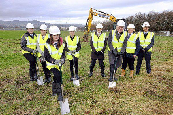 Work underway at delayed Newbattle Centre
