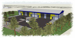 Abbotsford Business Park Industrial Units Artists Impression
