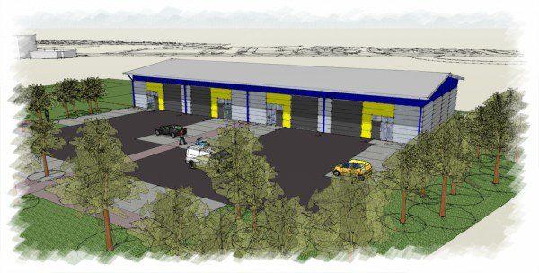 Construction starts at Falkirk-based business park
