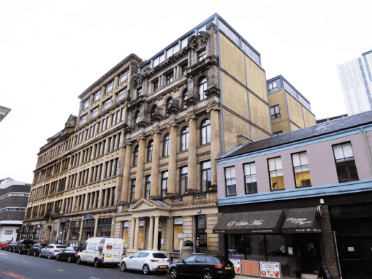 Speirs Gumley let Glasgow city centre block