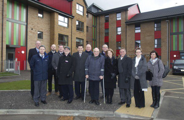 Housing project brightens up Cumbernauld