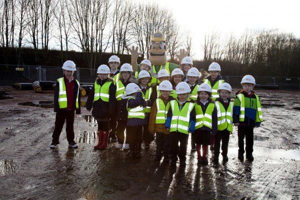 School pupils go behind the scenes at new energy centre