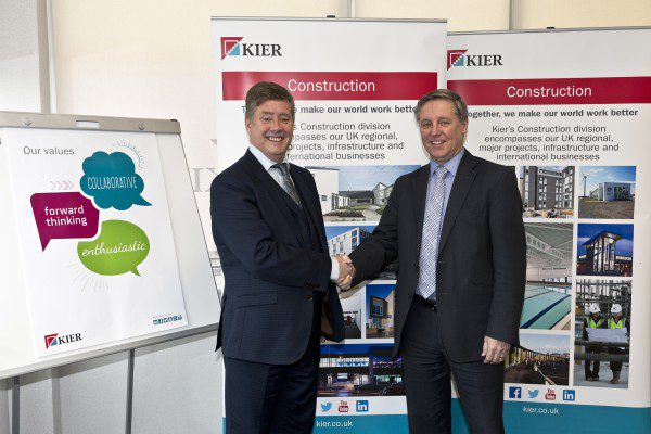 Infrastructure secretary visits Kier to discuss skills gap