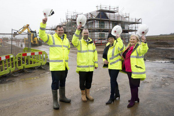 MP visits award-winning site manager