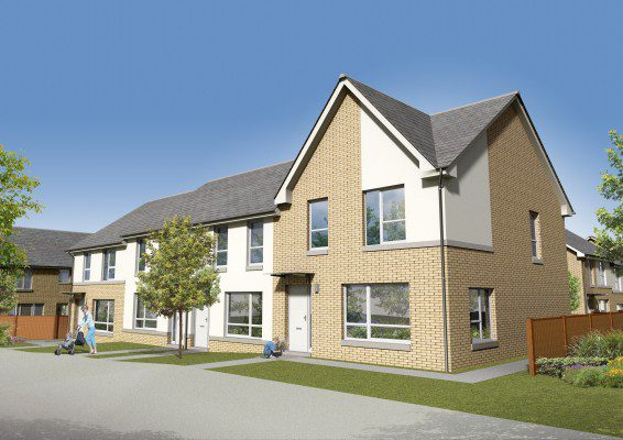 New Baron's Vale development pinned in Glasgow's East End