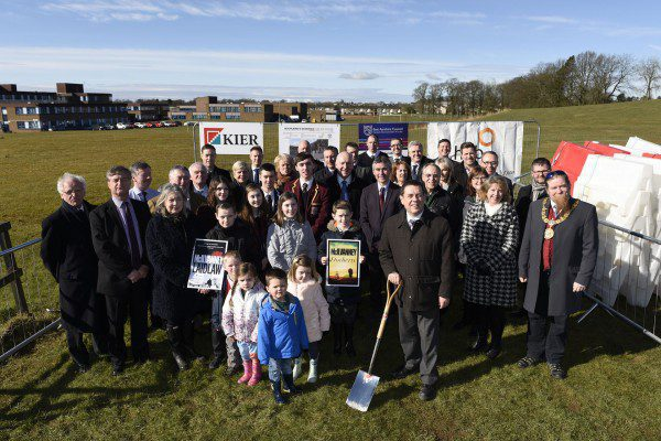William McIlvanney Campus work to commence