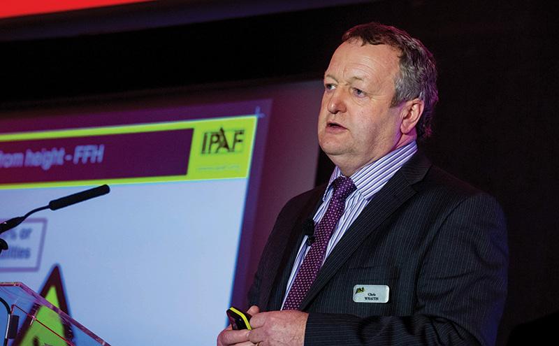 Chris Wraith, IPAF technical & safety executive