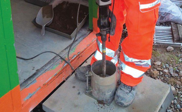 Geotechnical and material testing in the Highlands