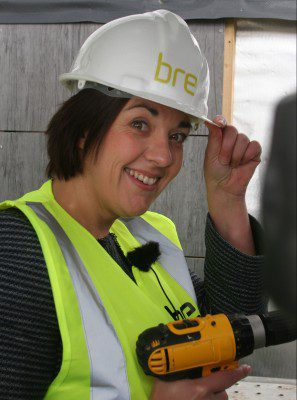 Scottish Labour leader unveils BRE demonstration home