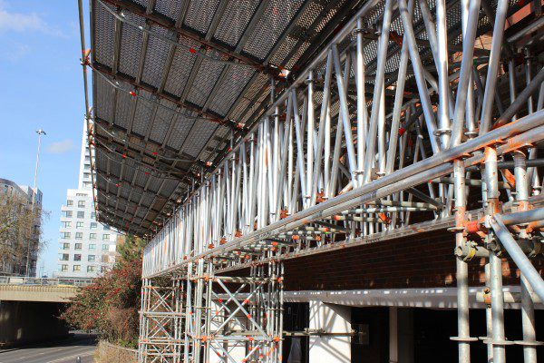 Layher 'beaming' with pride over new scaffolding system