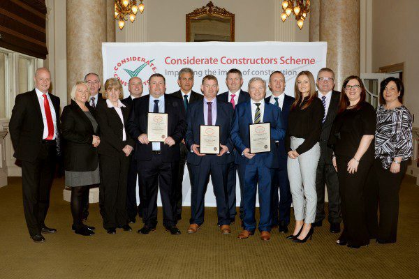 Robertson Group win hat-trick at National Site Awards