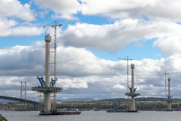 Worker killed in Queensferry Crossing incident