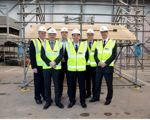 Deal struck to build North East scaffolding training centre