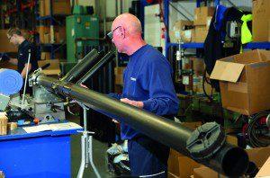 Polypipe Terrain boast a busy fabrications area