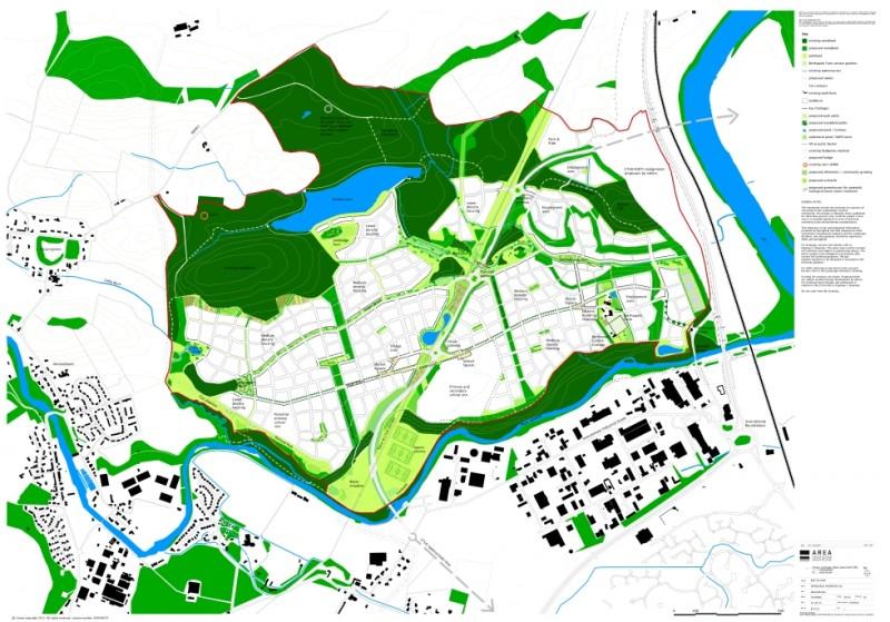 Springfield Properities Bertha Park Masterplan SML