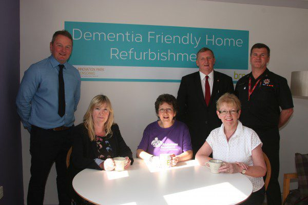 Dementia-friendly demonstration home unveiled
