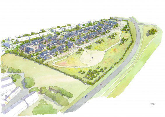 Plans submitted for homes in East Lothian village
