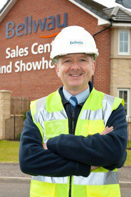 Bellway manager scoops Health and Safety award for Stepps site