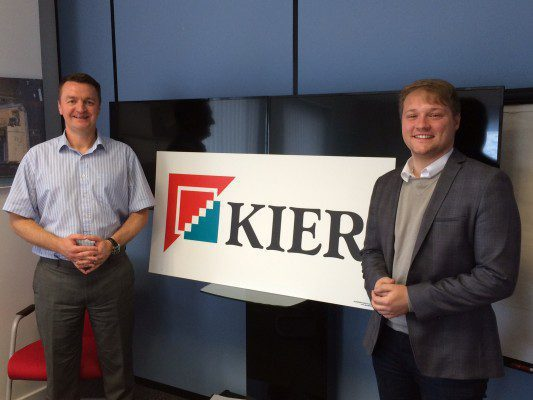 Local MP visits Kier's Aberdeen office