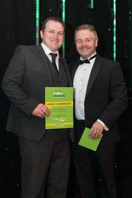 Stewart Milne duo scoop awards